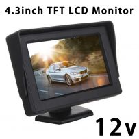 4.3 Inch 12v In Car Dash LCD TFT Monitor Screen For Rearview Camera Car PC Movie