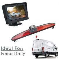 4.3 Inch Monitor & Rear Brake Light Parking Camera Kit For Iveco Daily 2014 Onwards