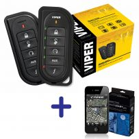 Viper 5204 Car Alarm + Remote SmartStart iPhone App Car Security System
