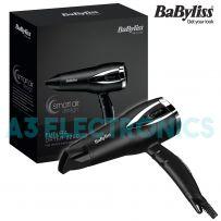 Babyliss 5361U Futura Dryer 2200 Smart Air Ionic Frizz-Control Hairdryer - 1700W