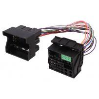 52 Pin to 40 Pin Quadlock Adaptor Power Cable VW T6 Skoda Radio Wiring Plug 2015-ON