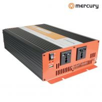 Car Van Power Inverter 2500W 12V to 230V Battery Backup Lights Fans Appliances