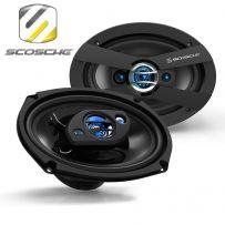 Scosche HD6904 300w 3 Way 6x9