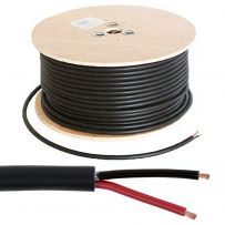 100V Line Heavy Duty 2 Core Double Insulated Ceiling PA Speaker Cable - 100M