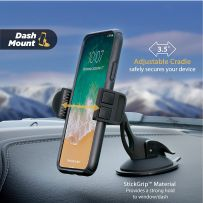 SCOSCHE HDVM 3-in-1 Car Universal Vent and Suction Cup Mount for Mobile Devices