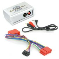 CTVADX001 Audi Aux in MP3 iPod iPhone Interface 3.5mm Jack Adaptor