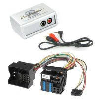 CTVBMX003 BMW Aux Input Interface Adaptor for iPod iPhone MP3 with 40 pin Quadlock connection