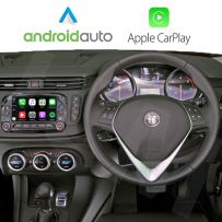 Wireless Apple CarPlay Android Auto Interface for Giulietta, Mito 2014 Onwards with Uconnect 5.0