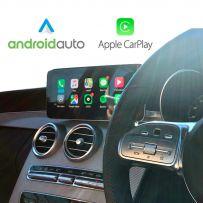 Wireless Apple CarPlay Android Auto MercedesA/B Class/CLA/GLA W222 S-CLASS2015-2018 Reversing Camera Interface