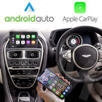 Wireless Apple CarPlay Android Auto Interface for Aston Martin V8 Vantage/DB11/DBS 2016-2020