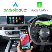 Wireless Apple CarPlay Android Auto Retrofit Kit Audi A4 A5 S5 Q2 Q5 Q7 (B9)