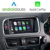 Wireless Apple CarPlay Android Auto Retrofit Audi Q5 2008-15 Concert GPS MMI