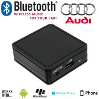Audi Car Bluetooth Aux In Music Interface For SmartPhones