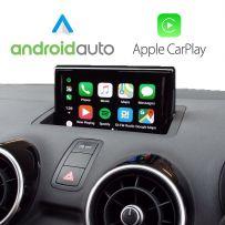 Wireless Apple CarPlay Android Auto retrofit kit Audi A1 2010-2018