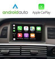Wireless Apple CarPlay Android Auto Navigation Audi A6 C6 Q7 2009-2011 GPS MMI