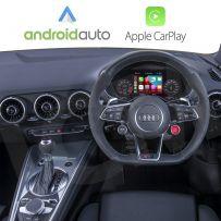 Wireless Apple CarPlay Android Auto for AUDI TT/TTS/TTRS MK3 2014-2019 with Virtual Cockpit