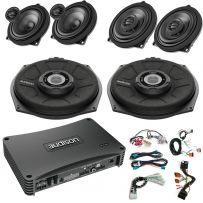 BMW Premium Car Audio Upgrade with Audison Forza Amplifier, Subwoofers,  Front and Rear Speakers and wiring kit