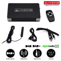 AutoDAB SmartDAB Universal Add on DAB DAB+ Digital Car Radio Wireless