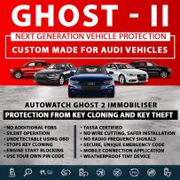 Autowatch GHOST 2 Immobiliser AUDI Tassa Approved Key Clone Theft Protection
