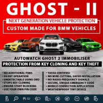 Autowatch GHOST 2 Immobiliser BMW Tassa Approved Key Clone Theft Protection