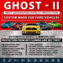 Autowatch GHOST 2 Immobiliser Ford Tassa Approved Key Clone Theft Protection