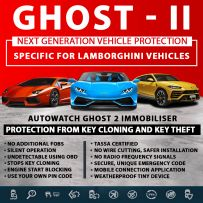 Autowatch GHOST 2 Immobiliser Lamborghini Tassa Approved Key Clone Theft Protection