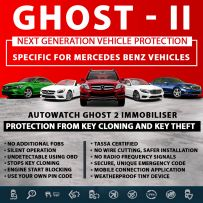 Autowatch GHOST 2 Immobiliser Mercedes Tassa Approved Key Clone Theft Protection