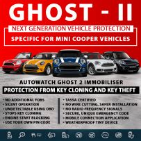 Autowatch GHOST 2 Immobiliser Mini Cooper Tassa Approved Key Clone Theft Protection