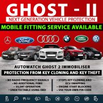 Autowatch GHOST 2 Immobiliser Tassa Approved Key Clone Theft Protection Mobile Installation Service
