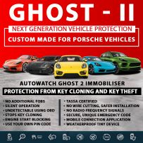 Autowatch GHOST 2 Immobiliser Porsche Tassa Approved Key Clone Theft Protection