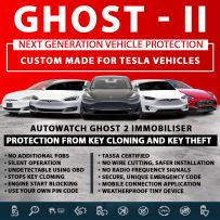 Autowatch GHOST 2 Immobiliser Tesla Tassa Approved Key Clone Theft Protection