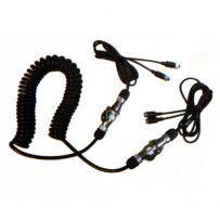 CCTV DVR Dual Camera Extension Cable For Cars 4x4 Trucks to Trailers Caravans
