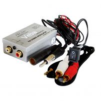 Veba Wired FM Modulator transmitter AVFM-MOD01 Aux iPod iPhone MP3 In Car Music