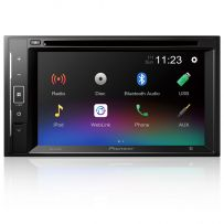 """AVH-A240BT Pioneer 6.2"""" Double Din Touch Screen CD/DVD Car Stereo with Smartphone Mirroring, Bluetooth & USB"""