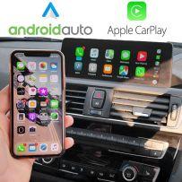Wireless Apple CarPlay Android Auto NBT EVO F10/F20/F30 1/2/3/4/5/X1/X2 Series 2017-2019 with 6.5″ Screen Navigation