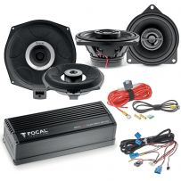 Focal Inside Powered 6.2 BMW Audio Upgrade Two way Coaxial Speaker and Subwoofer Package