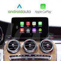 Wireless Apple CarPlay Android Auto MercedesW205 C Class/GLC 2015-2018 Rerversing Camera Navigation Retrofit