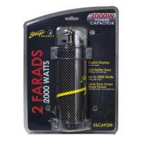 SSCAP2M Stinger Carbon Fibre 2 Farad Digital Power Capacitor 2000W