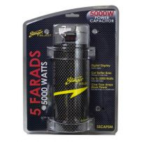 SSCAP5M Stinger Carbon Fibre 5 Farad Digital Power Capacitor 5000W