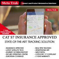 Meta Trak S7 (Meta Trak 6 V2) Insurance Approved Vehicle Live GPS Tracker Tracking System