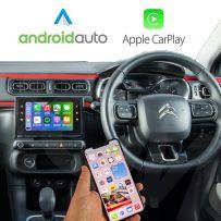 Wireless Apple CarPlay Android Auto for Citroen C3, C4, C5,Berlingo 2014-2017