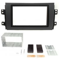 CT23FT06 Double Din Car Stereo Fascia Panel For Fiat Sedici Suzuki SX4