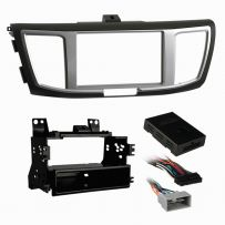 CT23HD43 Double Din Car Stereo Fascia Panel For Honda Accord 12-17
