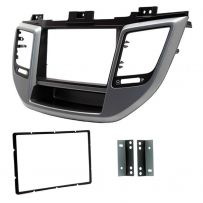 CT23HY51 Car Stereo Double Din Fascia Panel For Hyundai Tucson 2015-18