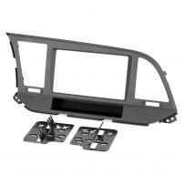CT23HY53 Car Double Din Stereo Fascia Panel For Hyundai Elantra 2017-18