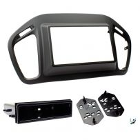 CT23JP07 Double Din Car Stereo Fascia Panel Kit For Jeep Compass