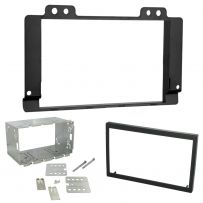 CT23LR01 Land Rover Freelander 2004-06 Double Din Fascia Plate & Cage Kit