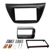 CT23MT02 Mitsubishi Lancer 05-07 Double Din Car Fascia Panel Plate