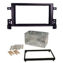 CT23SZ01 Suzuki Grand Vitara Double Din Car Facia Plate