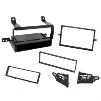 Single Din Fascia Panel For Car Stereos / Radios For Nissan Pathfinder